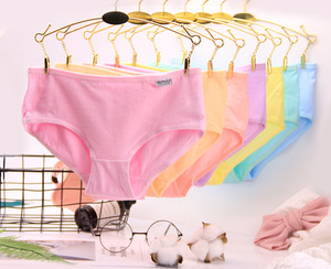 Wholesale Cotton Panties Stock Women Breathable panties