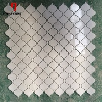 Manufacturer Stone And Marble Mosaic Tile Ms International Greecian White Hexagon Mural For Bathroom