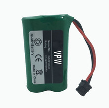 Environmental Protection Battery Rechargeable AA NIMH 2.4V 1500mAh Battery for Cordless Phone