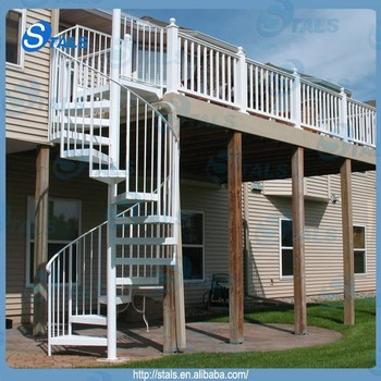 Ordinaire Factory Custom Outdoor Spiral Staircase Prices