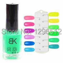 Gelishgel Nail Polish For 7ml Neon Fluorescent Non toxic Nail Polish Varnish Lacquer Paint Art For