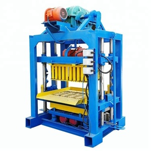 QT4 -40 manual cement ghana brick making machine for sale block machine qt4