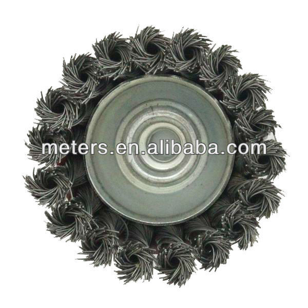 Cup steel wire Brushes Twisted Wire
