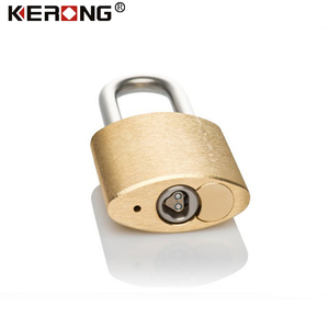 Customized innovative smart padlock with chip key