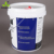 superior printed 15 liter round plastic pail with spout lid