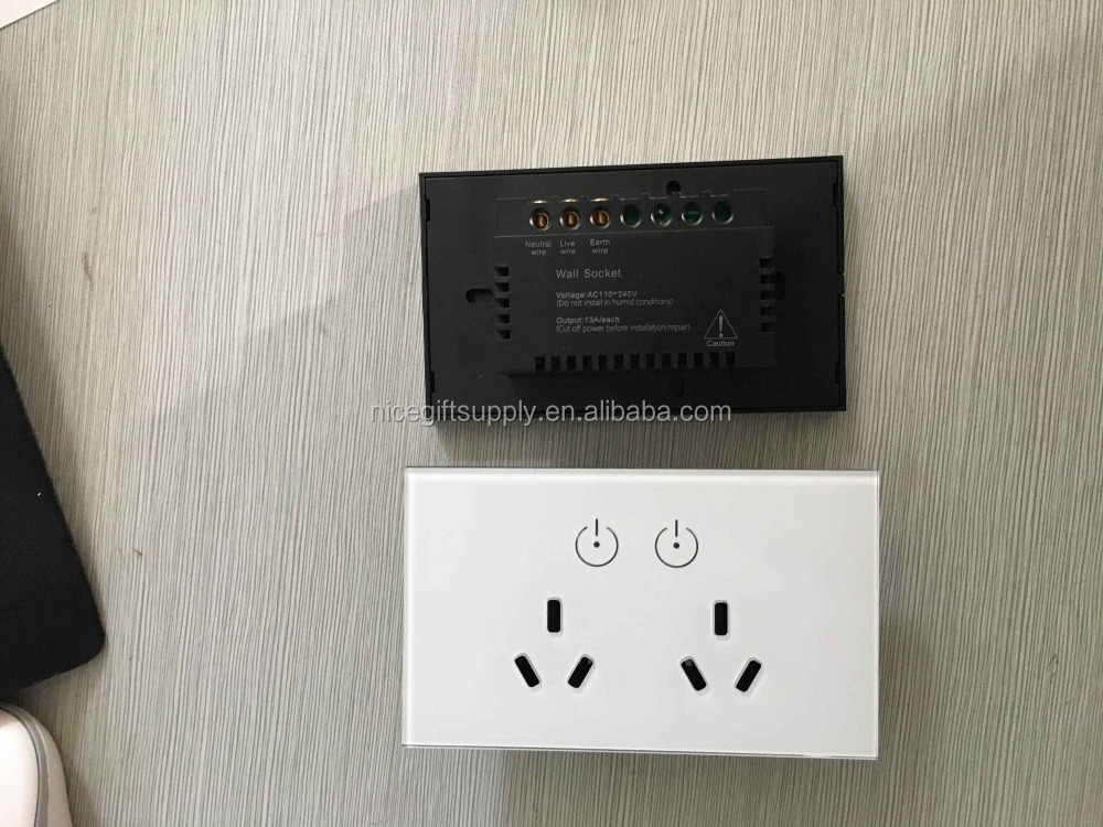 Australia New Sealand SAA GMA outlet socket powerpoint wall powerpoint sockets double powerpoint extra switch USB