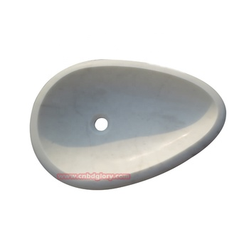 Hot sale bathroom stone products Water droplet wash basin