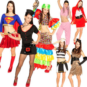 MAA-82 Adult Womens Funny Custom Carnival Party Halloween Costumes