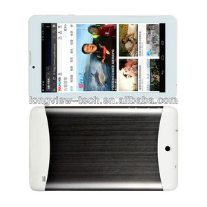 7 inch tablet pc 3G phone call with various colour metal case FM, GPS, BT, wifi, MTK6572