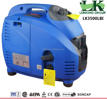3000w Portable Small inverter generator,easy to carry,clean power. 3kva gasoline generator