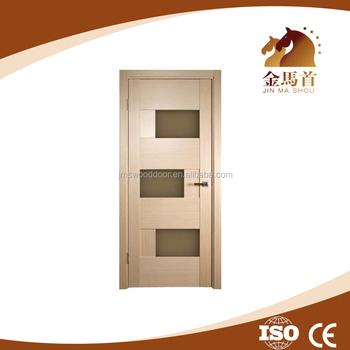 2015 new design modern wood door designs mdf internal door for New door design 2015