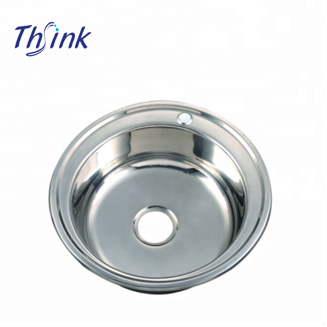 Round Bowl Stainless Steel Kitchen Sink In Eastern Europe - Buy Round  Sink,Stainless Steel Kitchen Sink,Kitchen Sink In Eastern Europe Product on  ...