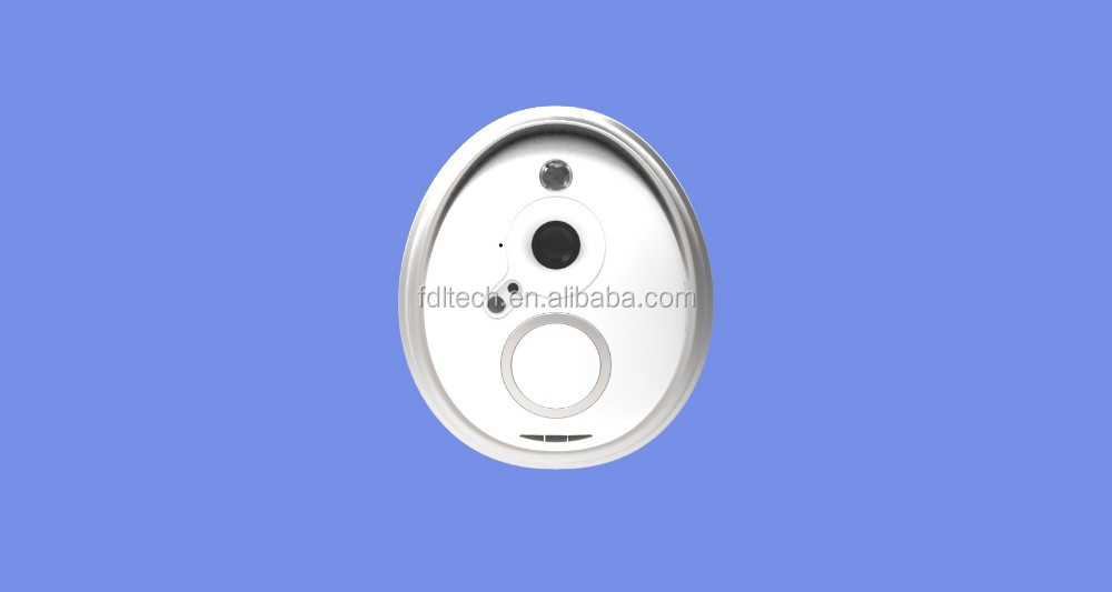 FDL PIR motion detection wide angle peephole,wifi door viewer,remote wireless door bell