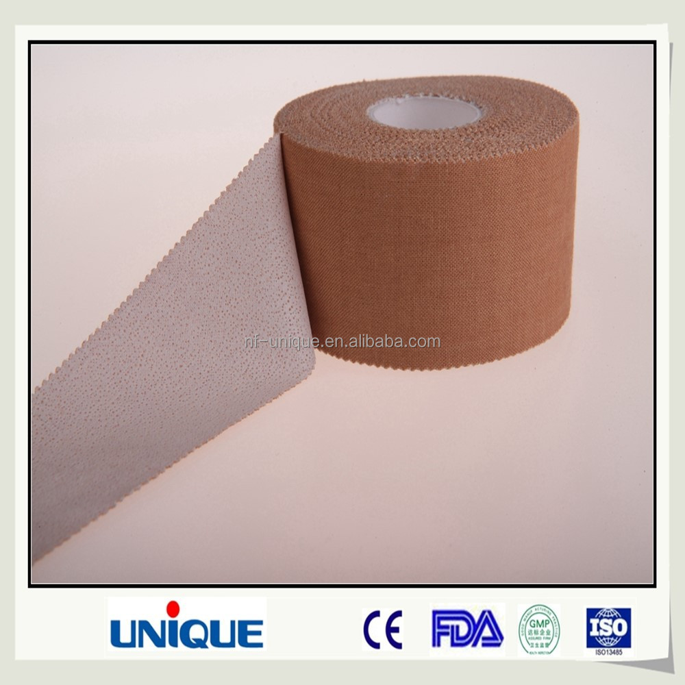 zinc oxide adhesive plater with poous rigid tape