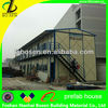 Standard temporary prefabricated building Two storey economical quality beautiful low cost modular apartment