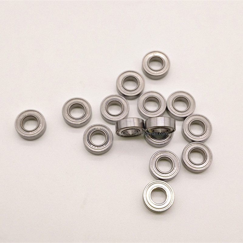 Qty.10 Flange ball bearing MF63-ZZ metal shields MF63 high quality MF63-2Z