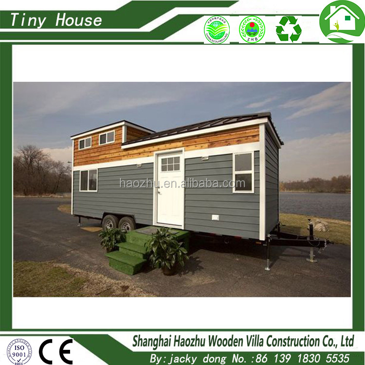 cheap mobile portable prefab tiny house on wheels
