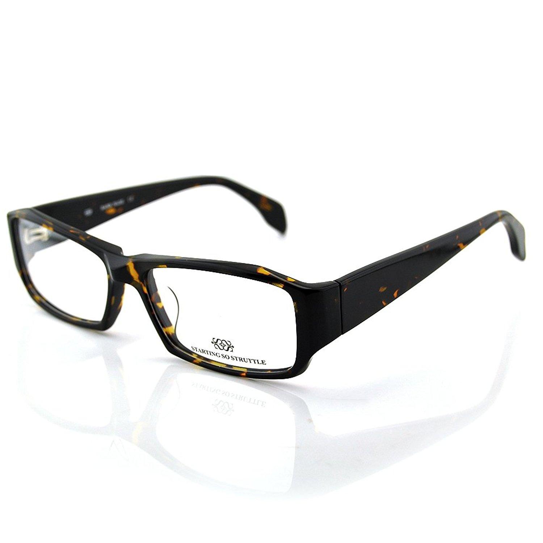 New Pensee Eyeglasses Prescription Rectangle Optical Frame 56mm Demo Lens
