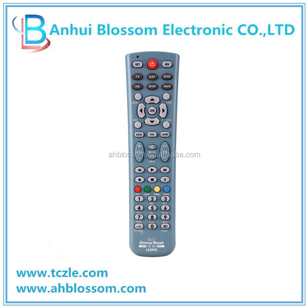 Hot Selling universal DVD player remote control codes tv