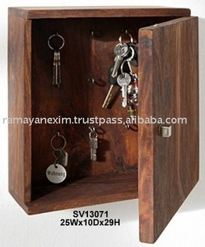 Beau Wooden Key Box,key Holder,key Case