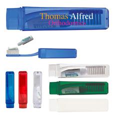 创新旅行礼品酒店品牌标志个人便携式迷你口袋 10pc 牙科护理塑料牙签盒与开瓶器