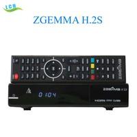 Zgemma h2s with twin tuner DVB-S2 digital satellite receiver zgemma star s2 h2 in UK