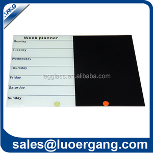 pro-environment ingenious novelty digital note board magnetic glass board