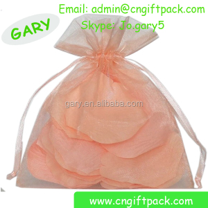China Manufacturer Wholesale Cheap Gift Small Mod Organza Bag