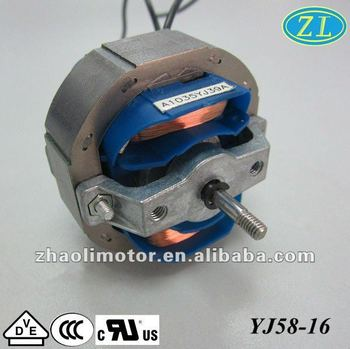 Small powerful electric motors motor electric yj58 16 for Most powerful electric motor