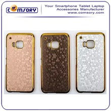for HTC ONE M9 carbon fiber hard plastic cell phone case