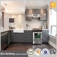 High gloss uv kitchen cabinet design company
