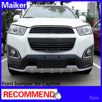 front bumper & rear bumper for Chevrolet Captiva SUV auto parts bumper plate 4x4
