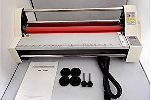 """V480 220V 17.5"""" Four Rollers Hot Laminating Machine Laminator For A2+ Paper electronic temperature control LED Display With Single And Double Laminate Function"""