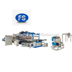 FUSHI PS Foam Food Container Disposable Tray Thermal Forming Machine