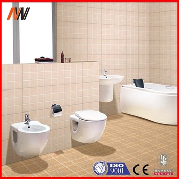 Standard Size 300x300mm Ceramic Bathroom Tile For Wall And Floor