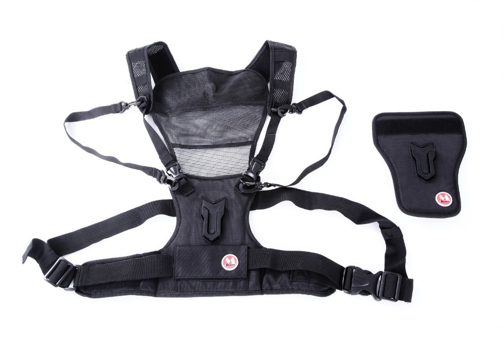 Micnova Multi Carry Photographer Vest Chest Harness System