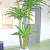 Hot sale artificial plastic potted banana bonsai trees