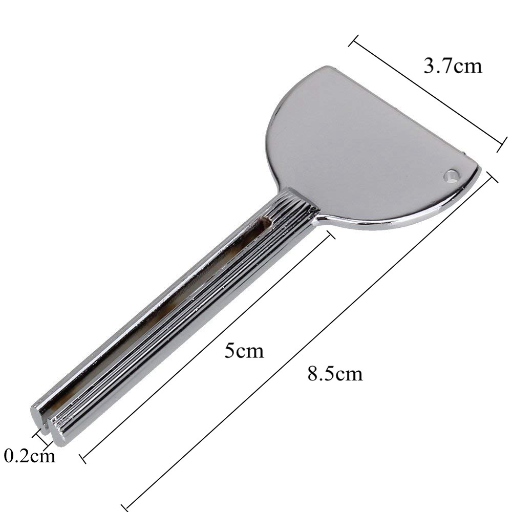 Salon Tools Metal Squeezer Roller Key for Hair color Tube