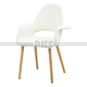 Fabric Cover And Beech Wooden Legs Living Room Chairs