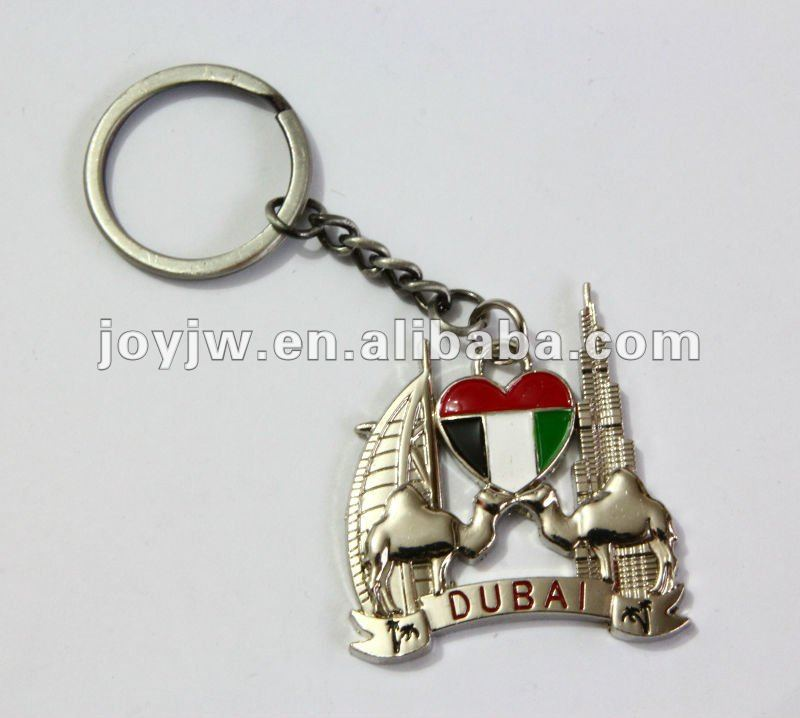 Best Characteristic Design Of Burj Dubai Keychain As Gift