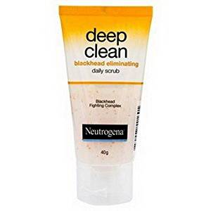 Neutrogena Deep Clean Facail Foam Blackhead Eliminating Daily Scrub 40g.