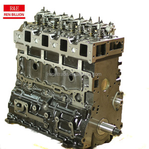 Hot sale! 4BG1 diesel engine long block auto engine block for ISUZU