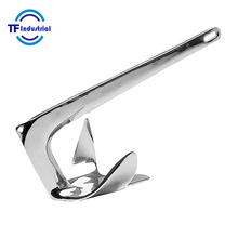 Stainless Steel 316 5kg Claw anchor Bruce Anchor Boat Anchor