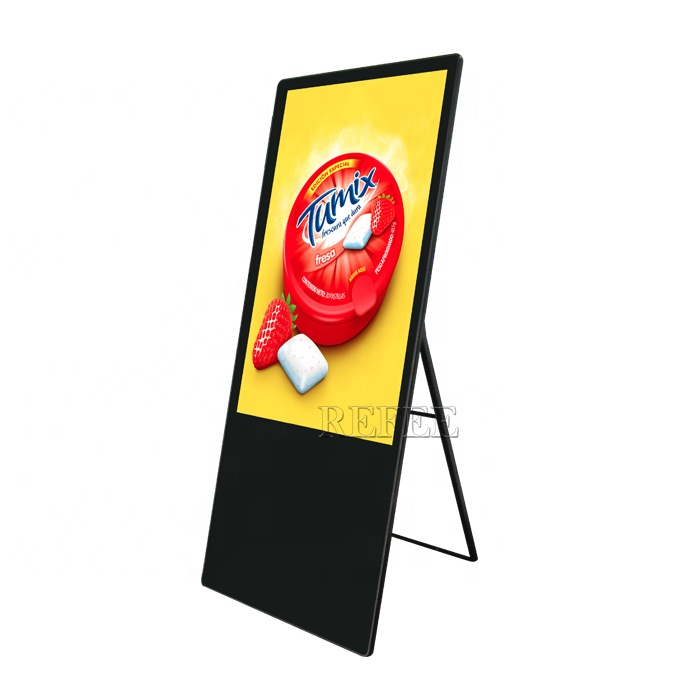 Refee 43 zoll stand digital signage/werbung display/android kiosk werbung player