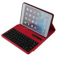 High-end and classy smart bluetooth keyboard case cover for ipad mini