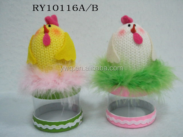 high quality easter decorations pvc easter basket