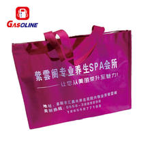 Cheapest excellent fashionable laminated non woven bag with zipper