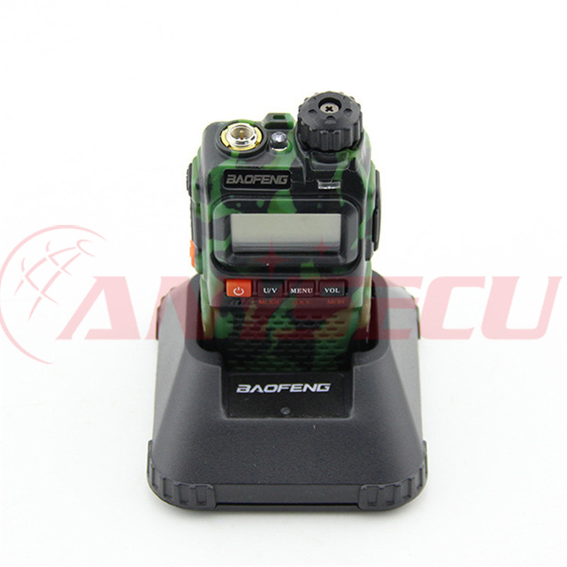 שתי דרך רדיו BAOFENG dual band UV 3R בתוספת UV-3R + ווקי טוקי camo