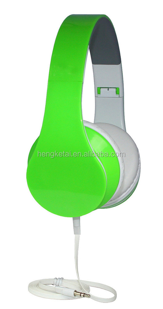 most popular wired plastic computer headphone , gaming head phones , DJ headset made in China