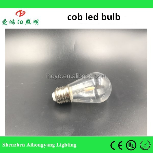 IHY B1-cob 2017 new model 1w e27/e26 auto wifi bluetooth led bulb